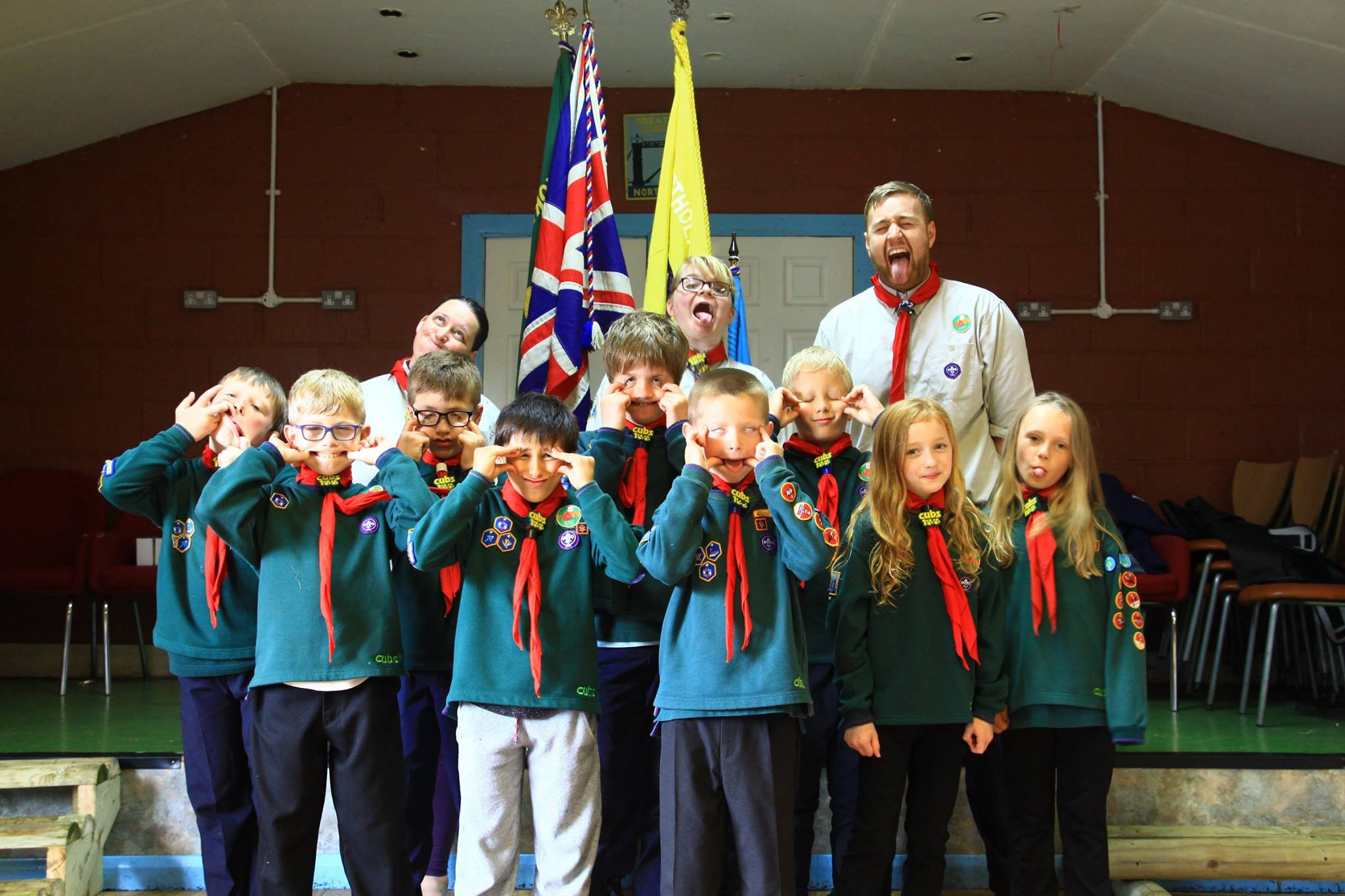 12th Northolt Cubs and Leaders